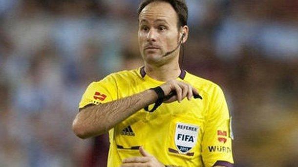 Матч сборной Украины вЗагребе проведет испанский физрук