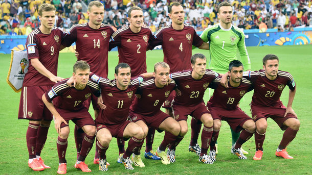 Весь состав сборной России наЧМ-2014 подозревается вупотреблении допинга