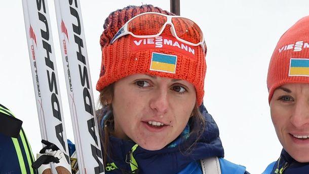 Биатлонистка И.Варвинец стала лучшим снайпером Кубка мира