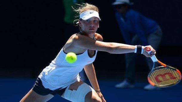 14-летняя киевлянка вышла в ¼ финала турнира ITF