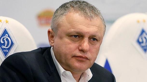 Суркис: Будущее Реброва в«Динамо» решится после окончания сезона