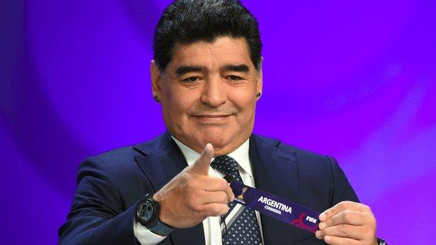 Диего Марадона продержался надолжности посла ФИФА всего полтора месяца