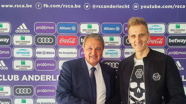 «Андерлехт» выкупил у«Динамо» договор Теодорчика