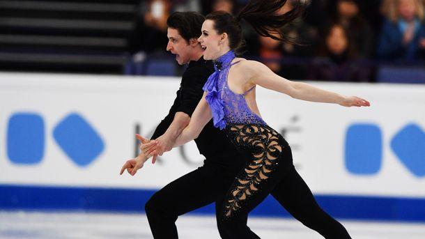 Канадский дуэт одержал победу чемпионат мира втанцах нальду
