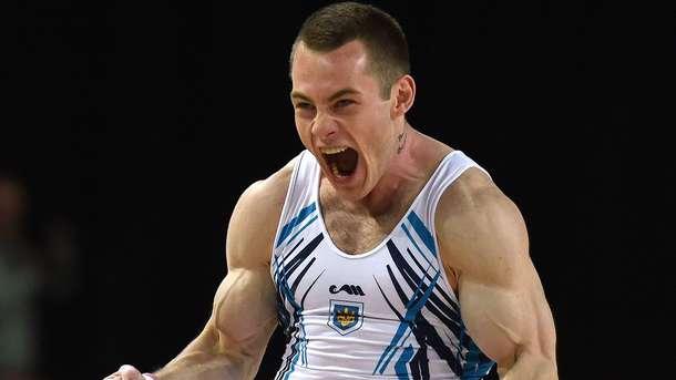 Радивилов завоевал «бронзу» гимнастического Евро вупражнениях накольцах
