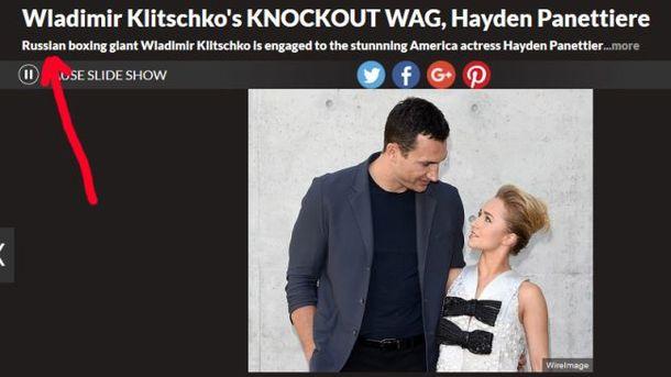 Английские СМИ назвали боксера Владимира Кличко россиянином