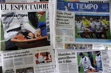 Болельщики сборной Колумбии угрожают учителю, который травмировал Фалькао