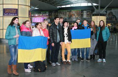 Украинские легкоатлеты призвали к единству и улетели на чемпионат мира