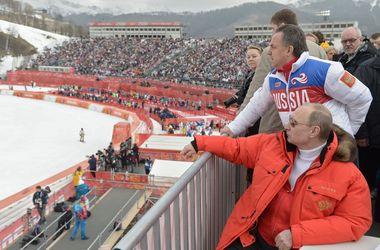 <p>Путин на Паралимпиаде. Фото AFP</p>
