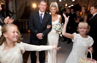 Олег блохин и его младшие дочери на