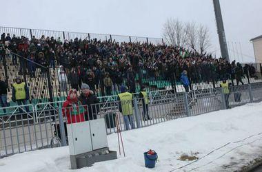 Казанские фанаты на матче с арсеналом