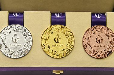 Европейские игры: таблица медалей на 15 июня