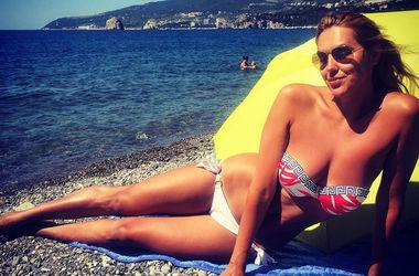 <p>Яна Клочкова на пляже. Фото instagram</p>