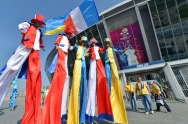 Старта матча украина франция фото afp