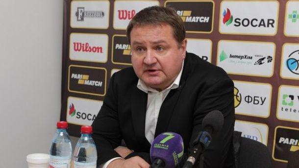 Мурзин покинул пост основного тренера «Будивельника»