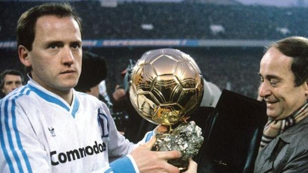 France Football забрал «Золотой мяч» уукраинского футболиста