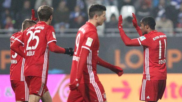 «Бавария» разгромила «РБЛейпциг» в основном матче 16-го тура Бундеслиги