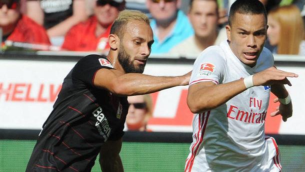 Гамбург переиграл Байер (1:0) встартовом матче 19-го тура Бундеслиги