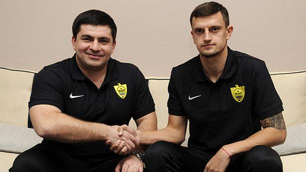Украинец Максим Белый стал игроком русского «Анжи»