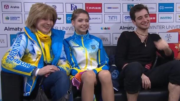 Украинские фигуристы завоевали «золото» наУниверсиаде