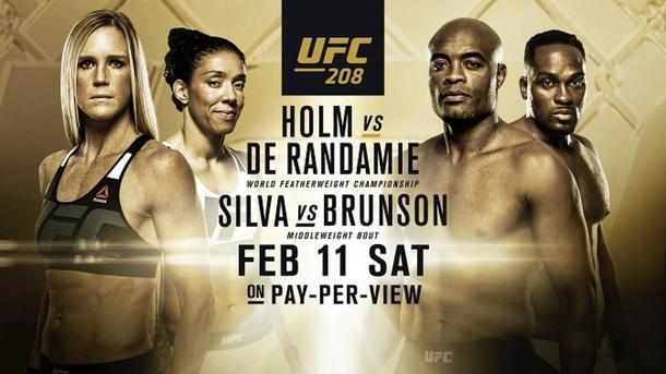 UFC 208: Холли Холм— Жермейн деРандамье. Результат иВИДЕО боя