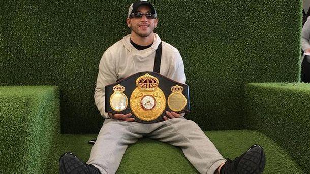 Конкурент Ломаченко отказался оттитула «регулярного» чемпиона WBA
