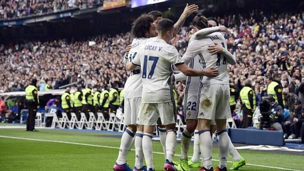 Мадридский «Реал» переиграл «Эспаньол» вматче чемпионата Испании пофутболу
