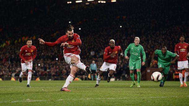 Все 5 голевых передач Погба за«Манчестер Юнайтед» адресованы Ибрагимовичу