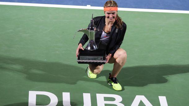 Свитолина обыграла Возняцки истала победительницей турнира вДубае