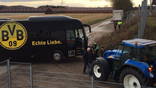 Матч дортмундской «Боруссии» вКубке Германии отменён