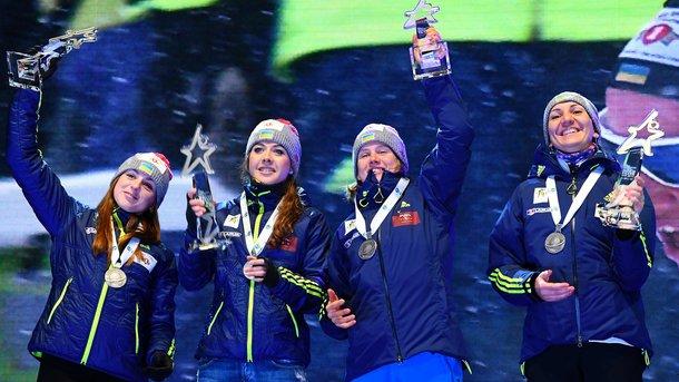 ВНОК лучшей спортсменкой февраля признали биатлонистку Пидгрушную