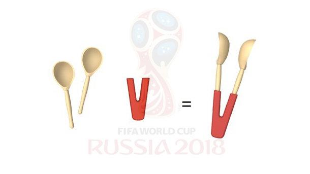 Символом ЧМ-2018 пофутболу могут стать «ложки победы»