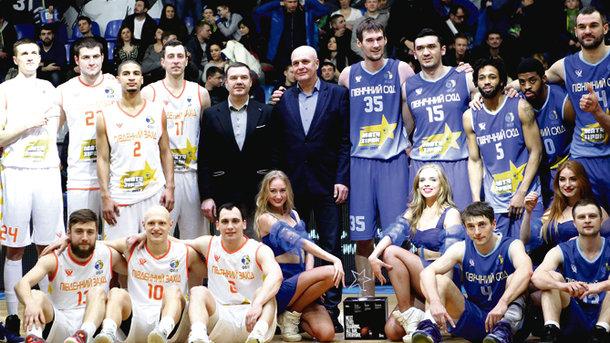 Команда «Северо-Востока» выиграла «Матч всех звезд» Суперлиги