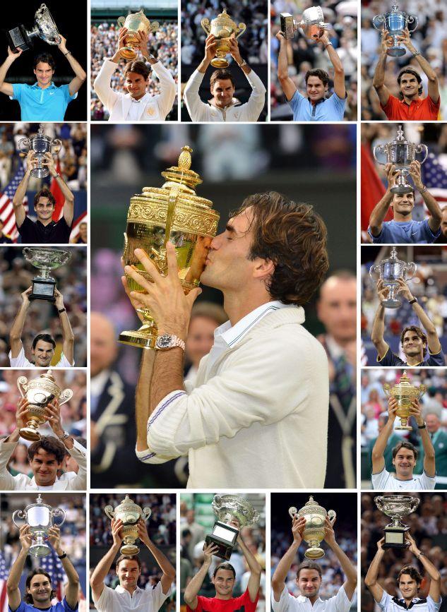 Роджер Федерер - снова первая ракетка мира