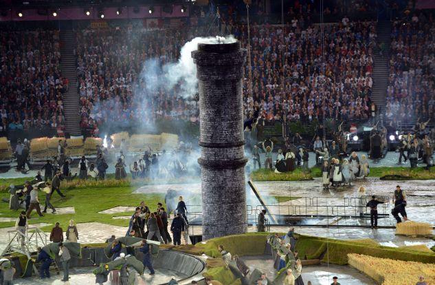 Церемония открытия Олимпиады-2012 прошла в Лондоне (фото, видео)