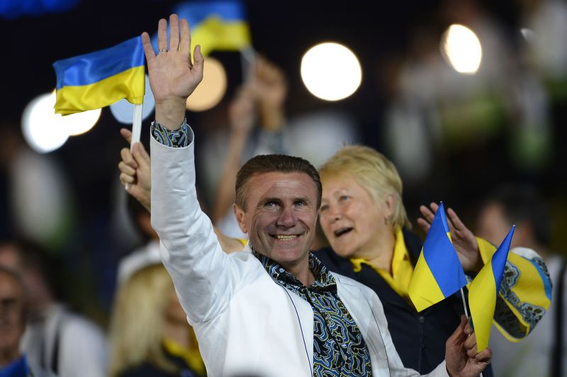 Сборная  Украины приняла участие в церемонии открытия Игр-2012 в Лондоне (фото)