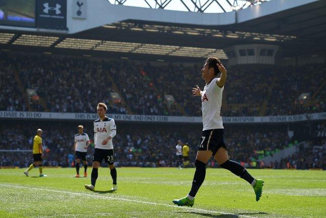ФК «Тоттенхэм» одержал шестую победу подряд, разгромив «Уотфорд» вматче чемпионата Британии