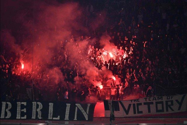 «Лион» вырвал победу над «Бешикташем» впервом матче ¼ финала Лиги Европы