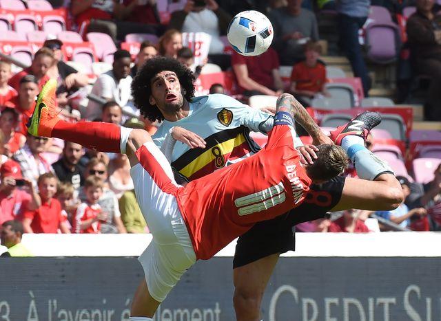 Бельгия сВитселем добыла волевую победу вматче соШвейцарией