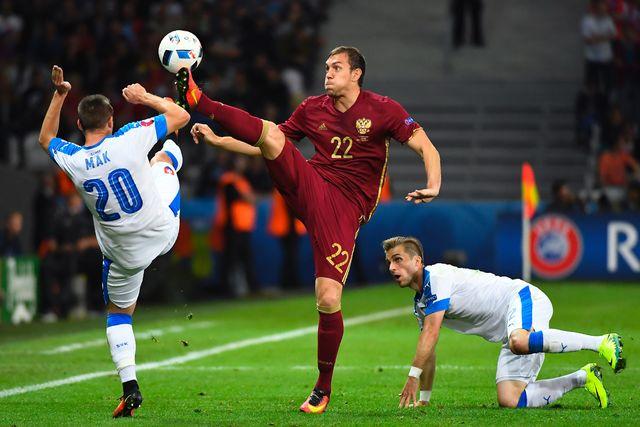 УЕФА ненакажет Российскую Федерацию зафайер наматче соСловакией