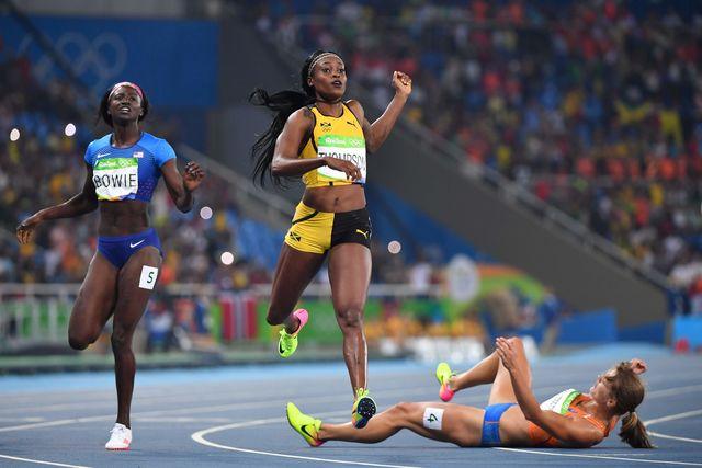 Элейн Томпсон выиграла 2-ое золото Рио