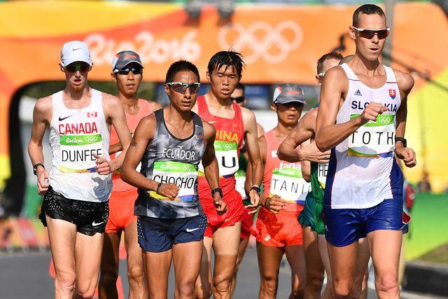 Словак Тот одержал победу олимпийское золото вспортивной ходьбе на50 километров