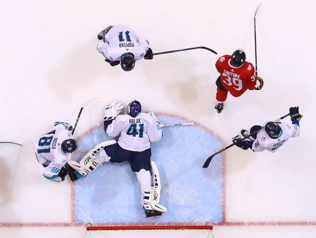 Канада одержала победу впервом матче финала Кубка мира против сборной Европы