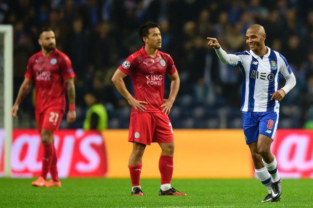 «Порту» разгромил «Лестер» ипробился вплей-офф— Лига Чемпионов