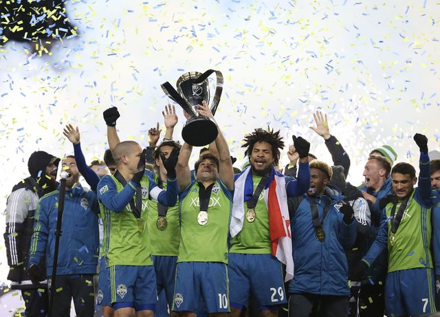 «Сиэтл Саундерс»— чемпион MLS