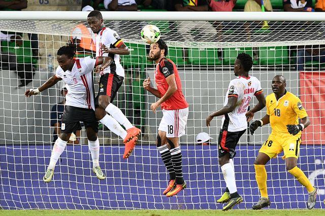 Футболисты сборной Египта обыграли команду Уганды вматче Кубка Африки