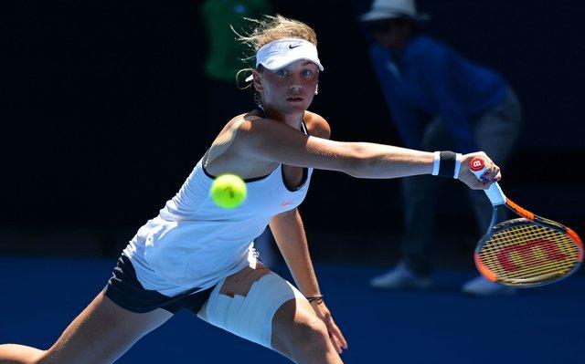 Украинка М.Костюк вышла вфинал юниорского Australian Open